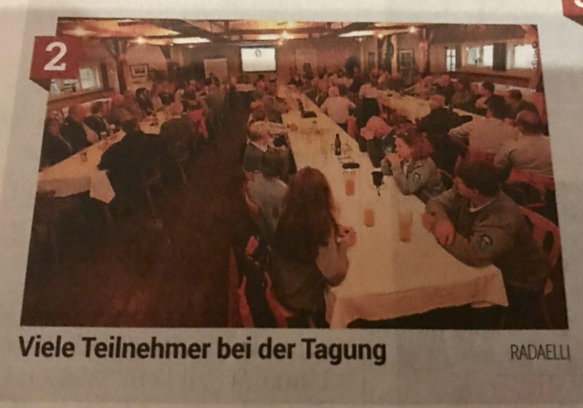 Kleine Zeitung: Naturwacht tagte in Lassing